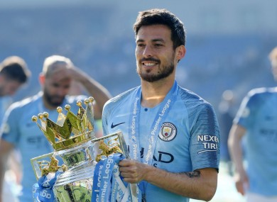 David Silva has outlined his intention to leave Manchester City after next season.