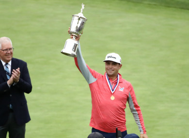 US Open champion Gary Woodland.