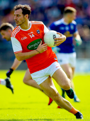 Armagh footballer Jamie Clarke is on the move.