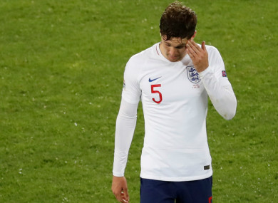 detailed look 4dc8d 4fe44 We still think he has been our best centre-back': Southgate ...