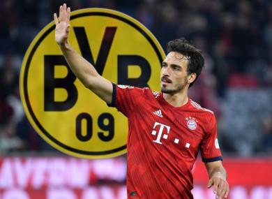 The German international defender is heading back to the Westfalenstadion.