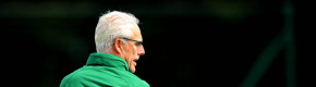 Mick McCarthy takes Irish training ahead of tonight's game.