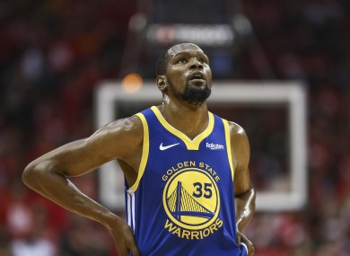 Durant has been a star with the Golden State Warriors.