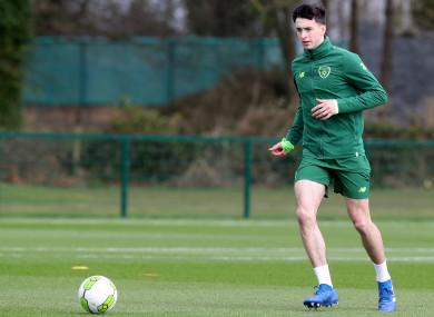 Farrugia has been part of Stephen Kenny's Ireland U21s set-up.