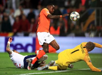 Kyle Walker's own goal helped Holland earn a win.
