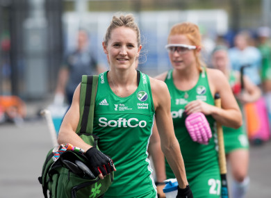 Nicci Daly: first phase of Ireland's Olympic qualifiers begin this weekend (file photo).