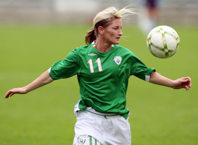 Olivia O'Toole scored 54 goals for Ireland between 1991 and 2009.
