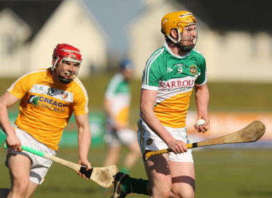 File photo of Offaly's Pat Camon in action.