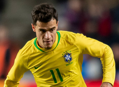 Coutinho: 'My performances have been a lot worse than I expected they would.'