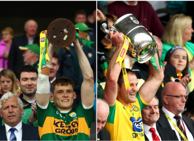 Captains Gavin White and Michael Murphy lifted silverware this weekend.