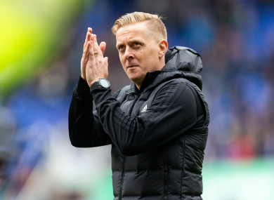 Former Birmingham City manager, Garry Monk.