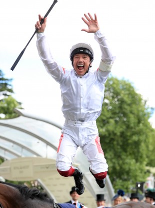 Dettori: seven winners across the week, including a brilliant four-timer on Thursday.