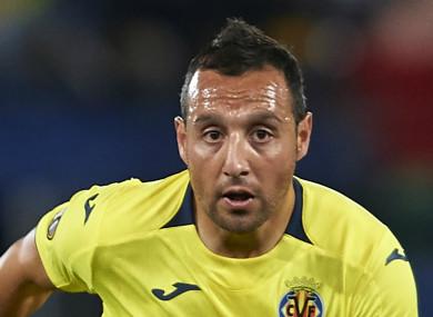 Villarreal midfielder Santi Cazorla.