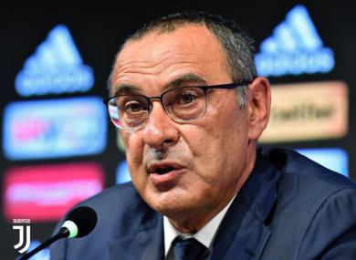 The Italian succeeds Massimiliano Allegri as manager.