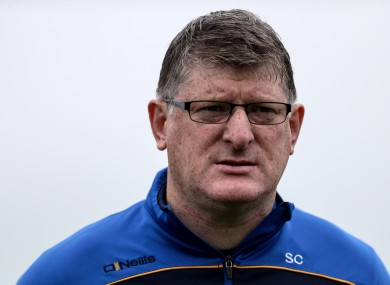 Roscommon manager Shane Curran.