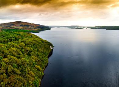The sweeping shores of Lough Gill, Co Sligo.