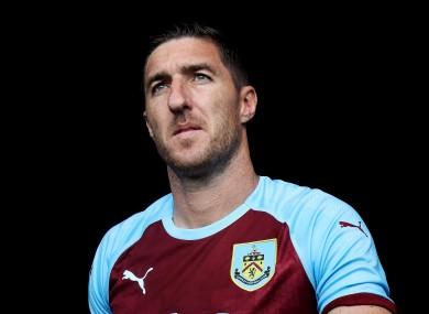 Ward spent five seasons at Burnley.