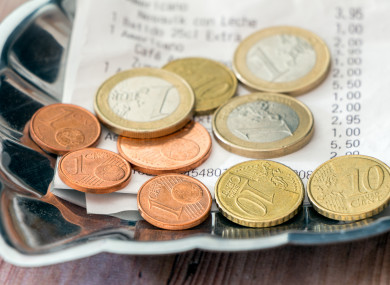Under proposed new government rules, there will be a requirement on employers to clearly display their policy on tips, gratuities and service charges, including how they are distributed to employees.
