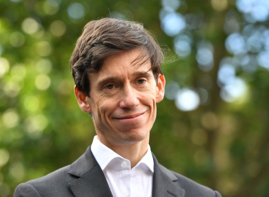 Conservative leadership contender Rory Stewart.