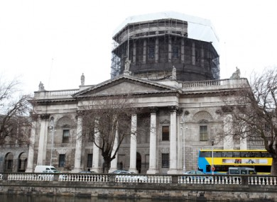 File photo. Four Courts in Dublin city