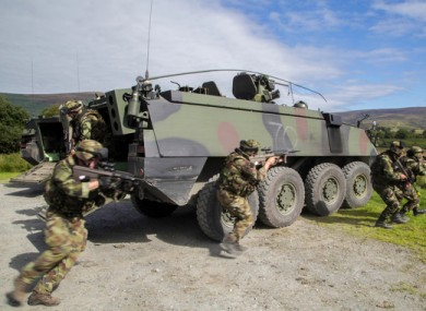Government says €10m boost to Defence Forces pay will make