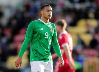 Republic of Ireland U21 international Adam Idah.
