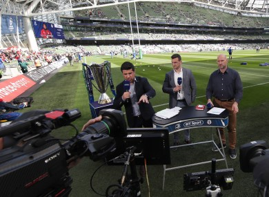 BT Sport has rights for the Heineken Champions Cup.