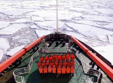 China's research icebreaker Xuelong, which provides year-round support for research on land, ocean, atmosphere, ice shelf and biology.