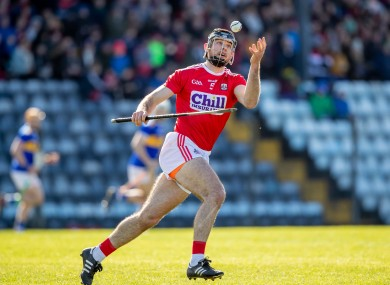 Christopher Joyce has been a part of the Cork senior panel since 2012.