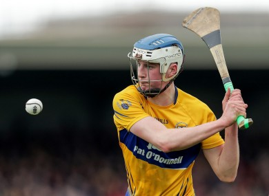 Diarmuid Ryan has featured for the Clare seniors this year.