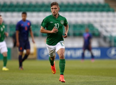 Eoghan Stokes has represented Ireland at underage level.