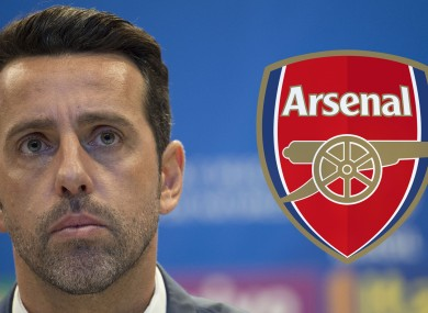 Arsenal's new Technical Director, Edu.