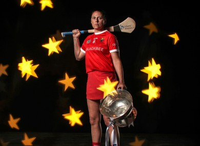 Cork captain Gemma O'Connor.