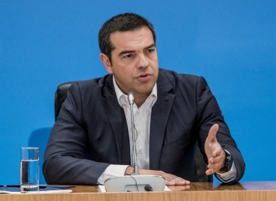 Alexis Tsipras concedes defeat in the first election to be conducted since Greece emerged from the bailout programs last summer.