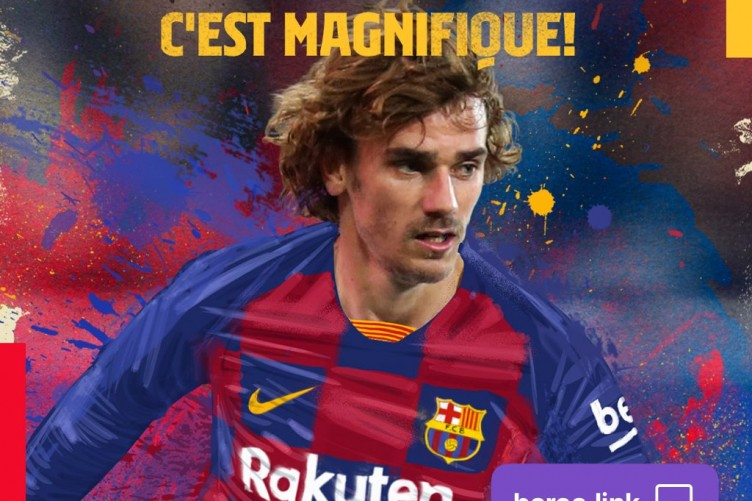 new style 0ad5b 2313c Barcelona complete €120m Griezmann transfer · The42