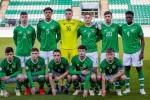 The Ireland U17 team (file pic).