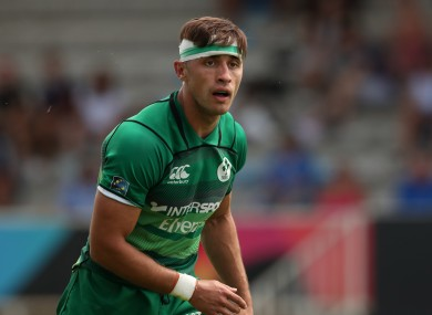 O'Shea is an Ireland sevens international.