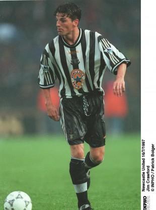 Jim Crawford spent three years at Newcastle.