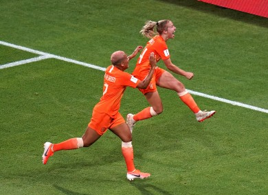 european champions netherlands outlast sweden to book world cup final place
