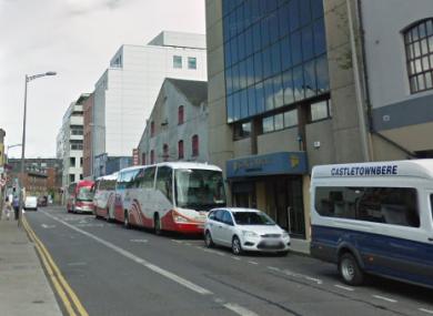 Lower Oliver Plunkett Street in Cork