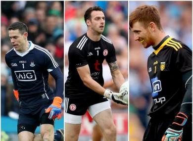 Cluxton, Morgan and Patton are some of the leading goalkeepers in the game.