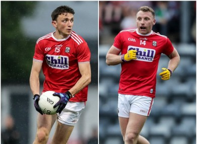 Collins and Hurley have starred for Cork to date this season.