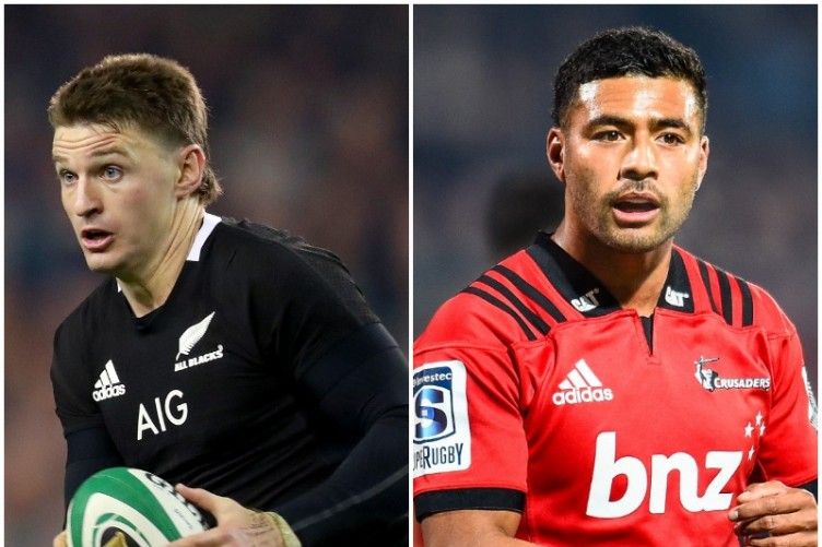 Barrett moves to 15 as All Blacks bring in Crusaders star Mo