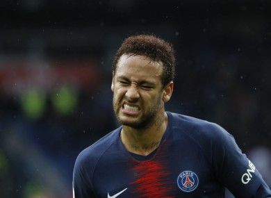 Neymar failed to report back for pre-season training earlier this month.