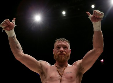 Moylette was scheduled to face Monaghan's Larry Fryers in a tantalising all-Irish clash in Boston on Friday.