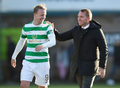 Griffiths and Rodgers pictured together in 2017.
