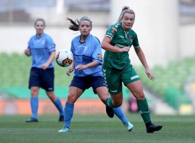 Noonan scored twice on Sunday (file pic).