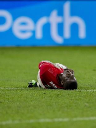 Bailly went down injured against Tottenham on Thursday.