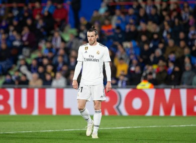 Bale was left out of Real Madrid's pre-season squad.