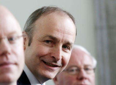 Micheál Martin (file photo)